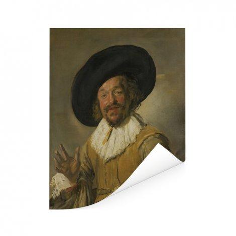 De vrolijke drinker - Schilderij van Frans Hals Poster