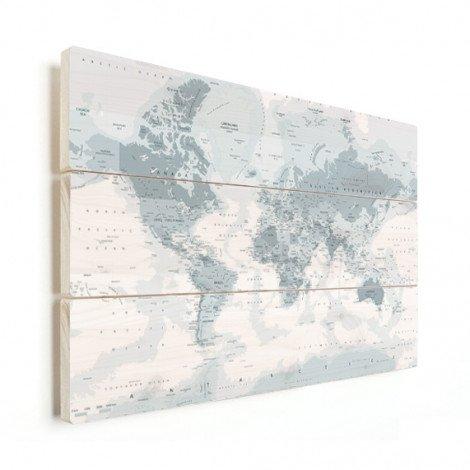 Realistisch - grijstinten hout