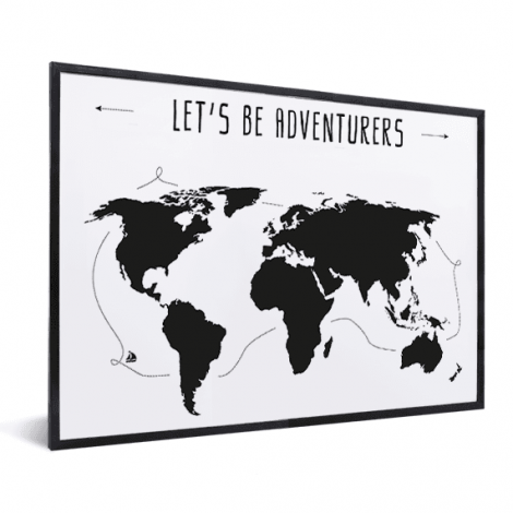 Tekst adventures in lijst