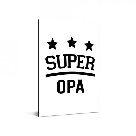 Vaderdag - Super opa Aluminium