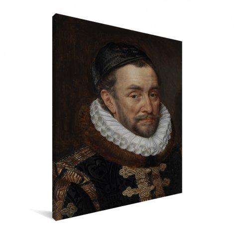 Willem van Oranje - Schilderij van Adriaen Thomasz Canvas