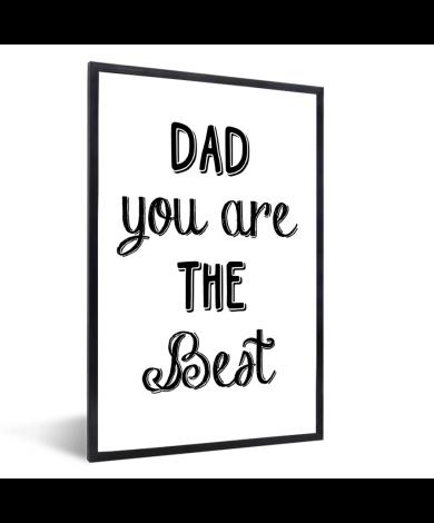 Vaderdag -Dad you are the best Fotolijst