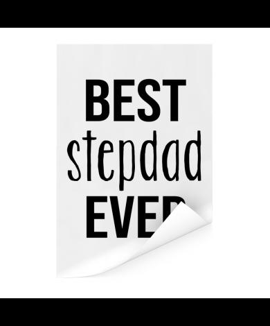 Vaderdag - Best stepdad ever Poster
