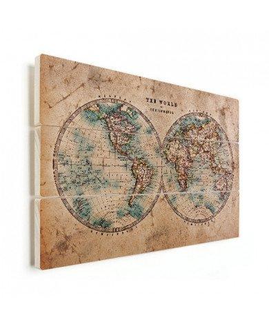 Doorsnede papier hout