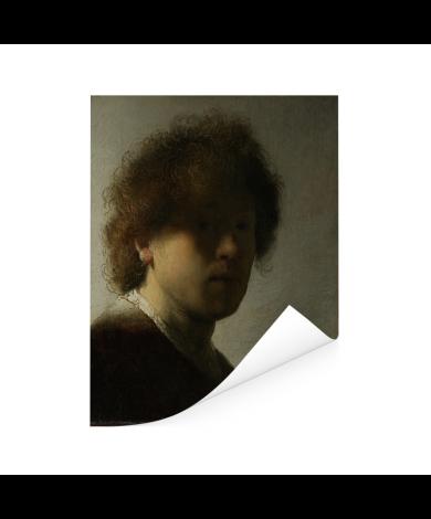 Zelfportret van Rembrandt - Schilderij van Rembrandt van Rijn Poster