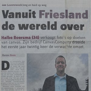 Vanuit Friesland de wereld over