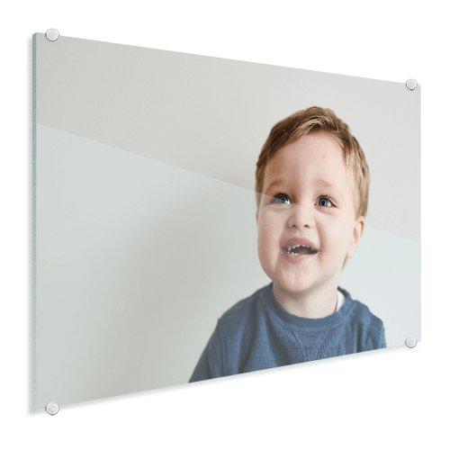 Foto op glas jong kind