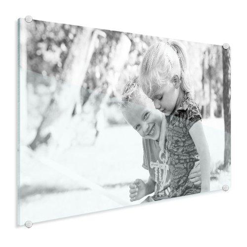 Foto op glas met kinderen