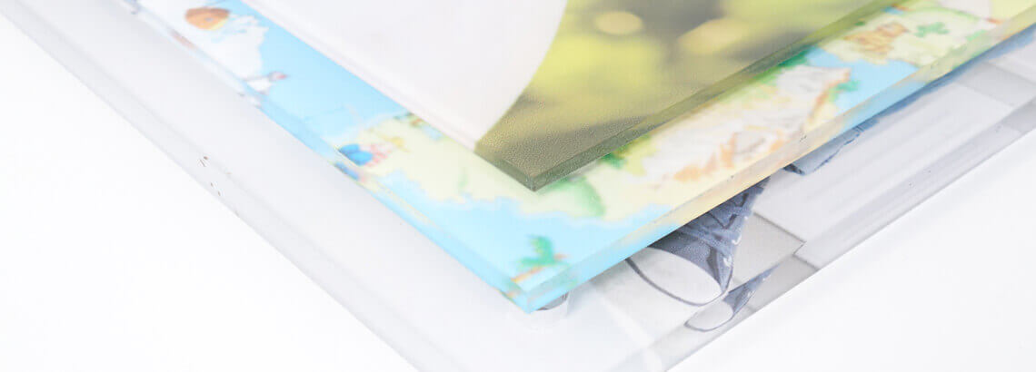 glasdiktes foto op plexiglas